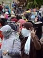 الإخوان تتراجع عن رفع المصاحف وتطالب أعضاءها بالإشارة برابعة غدًا
