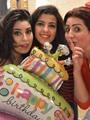 """بالصور.. وفاء عامر تحتفل بعيد ميلاد شقيقتها آيتن على """"إنستجرام"""""""
