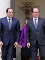 """بالصور..نجاح كبير لزيارة الرئيس إلى فرنسا .. استقبال حاشد من هولاند وتوقيع 3 اتفاقيات بـ""""الإليزيه"""" واستثمارات فرنسية بـ 796 مليون يورو..والسيسى: من دخل مصر فهو آمن..ولا بديل عن إقامة دولة فلسطينية"""