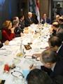 ننشر صور مباحثات الرئيس السيسى مع ممثلى مجتمع الأعمال الفرنسى
