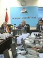 """بالفيديو.. """"محلب"""" يصل غرفة عمليات مجلس الوزراء لمتابعة الحالة الأمنية"""