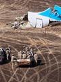 """لجنة تحقيق حادث الطائرة الروسية تبدأ عملية """"دمج واصطفاف"""" أجزاء الطائرة"""