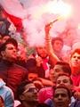 """الحبس 3 سنوات لـ20 من """"الوايت نايتس"""" لاتهامهم باقتحام استاد القاهرة"""
