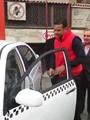 بالفيديو.. لحظة استلام صاحب تاكسى المطرية المحترق سيارة جديدة