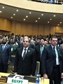 بالصور.. السيسى يقطع زيارته لأثيوبيا ويعود للقاهرة لمتابعة أحداث سيناء