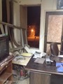 صور آثار سلسلة الهجمات الإرهابية على عدد من المقرات الأمنية بسيناء