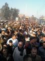 تشييع جثمان محمود عبد النور شهيد الإرهاب بسيناء فى مسقط رأسه بالشرقية