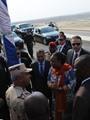 رئيسة إفريقيا الوسطى: الشعب المصرى آمن بقدرات رئيسه وبقوة مشروع القناة