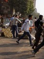 تجدد الاشتباكات بين عناصر الجماعة الإرهابية وقوات الأمن بالمطرية