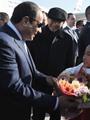 ننشر صور وصول الرئيس السيسى إلى العاصمة الصينية بكين