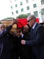 محلب وعدد من الوزراء والسياسيين فى تششيع جنازة عبد العزيز حجازى رئيس الوزراء الأسبق