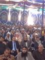 جلسة صلح بين مسلمى وأقباط قرية كفر درويش ببنى سويف