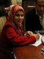النائبة منى عبد العاطى عضو لجنة التعليم بمجلس النواب