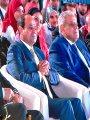 بالصور.. الرئيس السيسي: نحتاج لوضع آليات مناسبة لدعم قدرات الشباب
