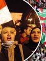 مظاهرات من ثورة 25 يناير