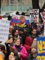 """بالصور.. اندلاع مظاهرات مناهضة للرئيس الأمريكى تحت عنوان """" ترامب ليس رئيسى"""""""