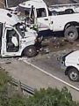 مصرع 12 شخصا فى حادث تصادم بولاية تكساس الأمريكية