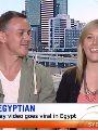 """الأسترالية صاحبة فيديوهات """"امشى كأنك مصري"""": ما يقال عن مصر غير واقعي"""