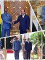 الرئيس السيسى و الرئيس الغينى ألفا كوندى