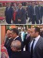 الدكتور أشرف الشرقاوى مع الزميل عبد الحليم سالم