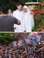 الفرحة تملأ شوارع مصر فى عيد الفطر