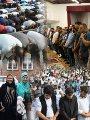 المصريين بالخارج يؤدون صلاة العيد