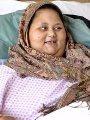 """وفاة """"إيمان المصرية"""" أسمن امرأة فى العالم بسبب اختلال وظائف الجسم"""