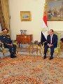السيسى لوزير دفاع السودان: سياسة مصر قائمة على حسن الجوار وعدم التآمر
