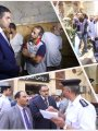 لجنة حقوق الإنسان تزور قسم روض الفرج
