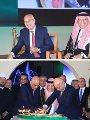 احتفال السفارة السعودية بالعيد الوطنى بحضور رئيسا الوزراء والبرلمان