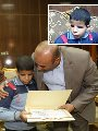 طفل كفيف يحصد المركز الأول بالجمهورية فى حفظ القرآن