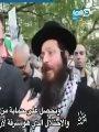 فيديو.. يهودى يشارك بتظاهرات الفلسطينيين ويؤكد: الصهاينة سرقوا فلسطين المقدسة