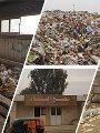 جانب من فرز القمامة