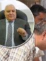 المستشار لاشين ابراهيم والمستشار محمود حلمى الشريف