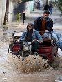 ننشر أماكن تجمعات مياه اﻷمطار التى تعوق حركة المرور فى القاهرة