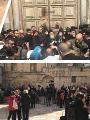 إغلاق كنيسة القيامة بالقدس المحتلة