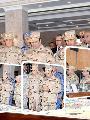 زيارة السيسى سيناء بـالزى العسكرى