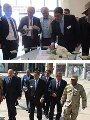 ١٠٠ سفير عربي وأجنبي يتفقدون الحى الدبلوماسي بالعاصمة الادارية