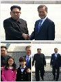 جانب من القمة التاريخية بين الكوريتين