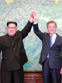 زعيما الكوريتين