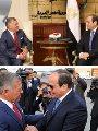 الرئيس عبد الفتاح السيسي والعاهل الأردني