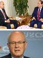لقاء السيسى مع رئيس الوزراء وملك الاردن وزعيم الاغلبية الالمانى