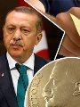 الرئيس التركى رجب طيب أردوغان والليرة التركية