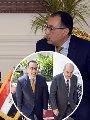 الدكتور مصطفى مدبولي رئيس مجلس الوزراء - إياد علاوي نائب رئيس جمهورية العراق