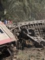 حادث قطار المرازيق - أرشيفية