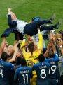 منتخب فرنسا يحتفل بمئوية ديشامب فى مباراة استعراضية ضد ألبانيا