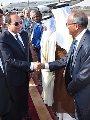 فيديو و صور.. الرئيس السيسى يصل السودان فى زيارة تستغرق يومين