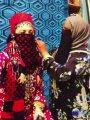 """فيديو.. مادونا ترتدى برقع فى المغرب وناقصها """"ملاية لف"""""""