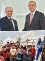 بوتين وأردوغان واللاجئين السوريين