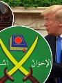ترامبو الكونجرس و شعار الاخوان